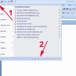 encontrar opciones para configurar del MS Word