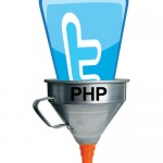 Embudo que lee twitter con PHP y extrae mensajes de twitter